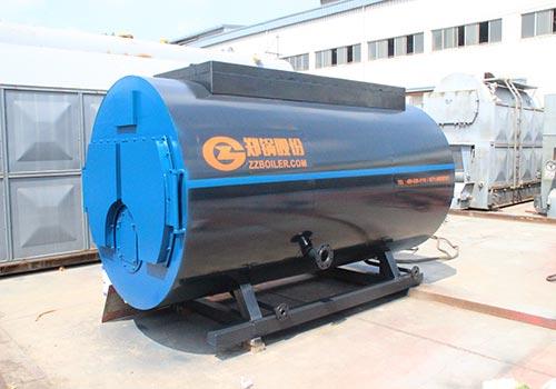 WNS12吨燃气蒸汽锅炉