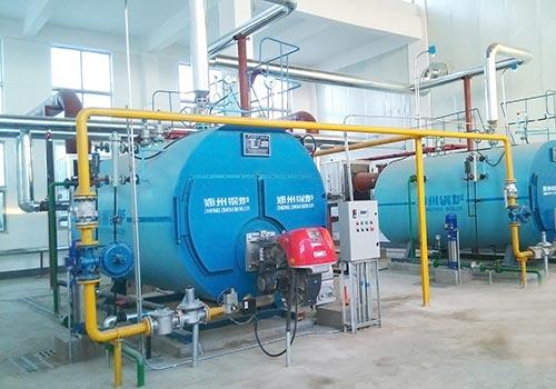 WNS15吨燃气蒸汽锅炉
